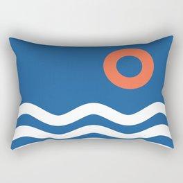 Nautical 03 Seascape Rectangular Pillow