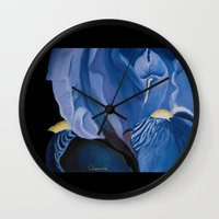 iris Wall Clocks featuring Iris by CHAUSSE Shop