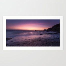 Pre-dawn at Swansea Bay Art Print