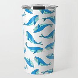 The Blue Whale Travel Mug