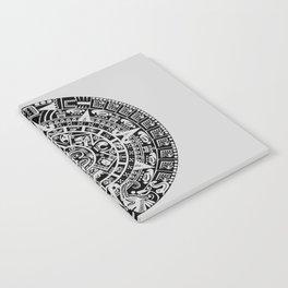 Mayan Calendar // Light Grey Notebook