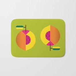 Fruit: Peach Bath Mat