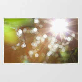 Finding the Light Abstract Photography Rug