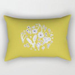 Zoned Out Rectangular Pillow