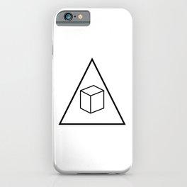 Delta Cubes iPhone Case