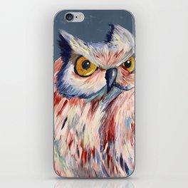 Subtle Owl iPhone Skin