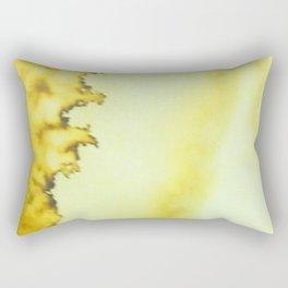Ochre Tempest Rectangular Pillow