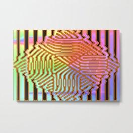Colorandblack serie 270 Metal Print