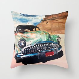 Beat up Holden Throw Pillow