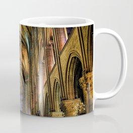 Notre Dame de Paris interior Coffee Mug