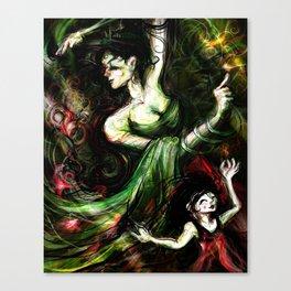 Dance Lesson Canvas Print
