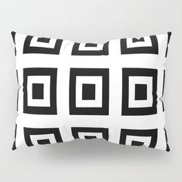 Tribute to mondrian 6- piet,geomtric,geomtrical,abstraction,de  stijl, composition. Pillow Sham