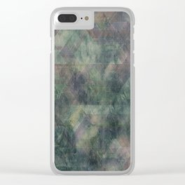 Abstract 201 Clear iPhone Case
