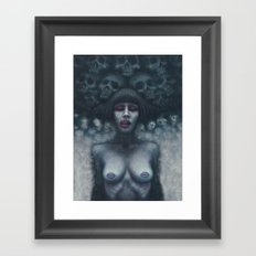Hungry Ghost Framed Art Print