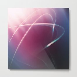 Electric Glow Metal Print