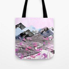 Daisy Mountain Tote Bag