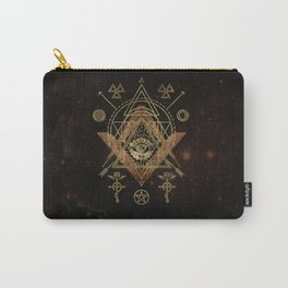Mystical Sacred Geometry Ornament Carry-All Pouch