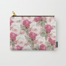 Roses floral pattern Carry-All Pouch