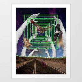 Destination: Sublime Art Print