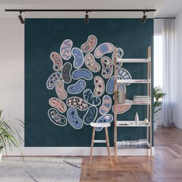 Microbes Wall Mural
