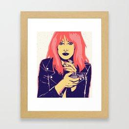 Rock Gina Framed Art Print