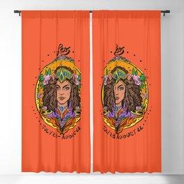 Zodiac: Leo Blackout Curtain