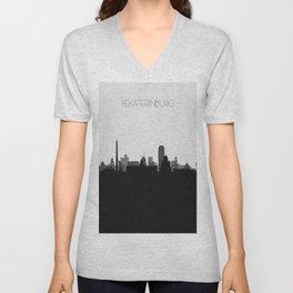 City Skylines: Yekaterinburg Unisex V-Neck