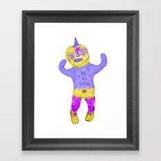 el gato #2 Framed Art Print
