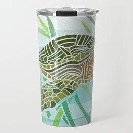 Sea Turtle at Home Travel Mug