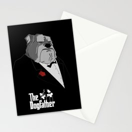 The Dogfather Stationery Cards