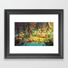 Juniper Woods Framed Art Print