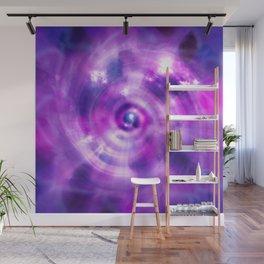 Ultraviolet Sahasrara (Pantone Colour of the Year 2018) Wall Mural