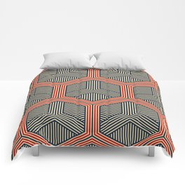Hexagon No. 1 Comforters
