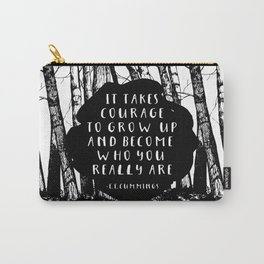 Courage (Designed for The YA Chronicles) Carry-All Pouch