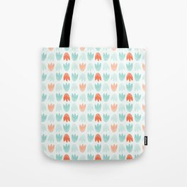 Graphic Tulips Tote Bag