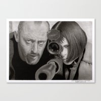leon Canvas Prints featuring Leon by Giampaolo Casarini