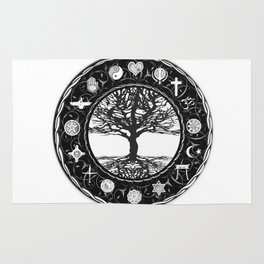 World Religions Tree of Life Rug