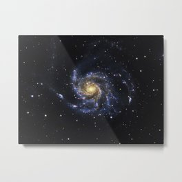 Spiral Galaxy M101 Metal Print