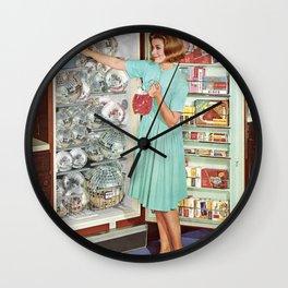 Party Prep Wall Clock
