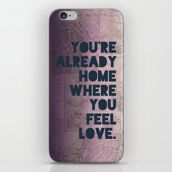 Home II iPhone & iPod Skin