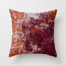 Bonoma - Abstract Colorful Decorative Bohemian Tie-Dye Style Art Throw Pillow
