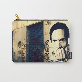 Street Art Pasolini in Rome Carry-All Pouch