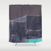 urban Shower Curtains featuring urban by Marilina Marchica