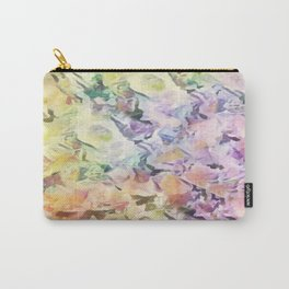 Vintage Soft Pastel Floral Abstract Carry-All Pouch