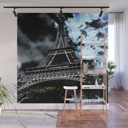 Paris - Eiffelturm Wall Mural