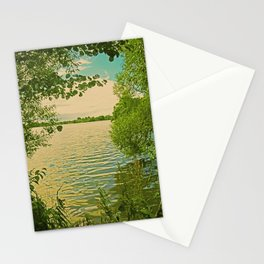 Mecklenburg Vorpommern, a place at thousends of Seas Stationery Cards