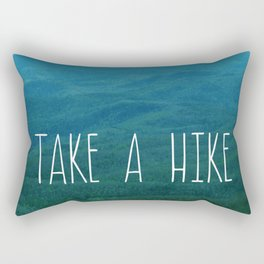 Take A Hike Rectangular Pillow