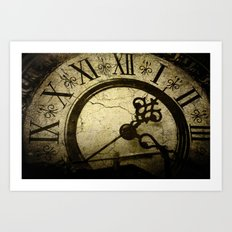A Crack in Time Art Print