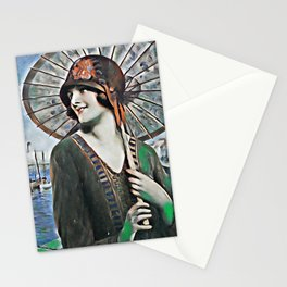 Happy 20's summer Stationery Cards
