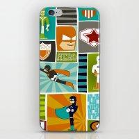 superheroes iPhone & iPod Skins featuring Superheroes! by EloisaD
